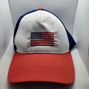 Baseball American flag hat